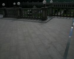 Площадка гранит Паданг Дарк