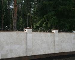 Забор Травертин Лайт