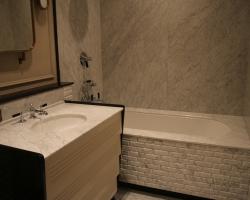 Ванная комната мрамор<br>Бьянка карара