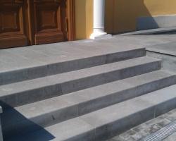 Лестница гранит Лисья горка