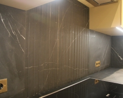 Столешница кухня мрамор<br>Неро марквина