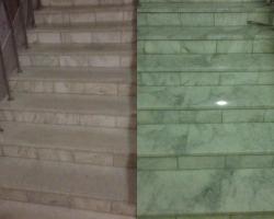 Реставрация и полировка мраморных лестниц