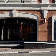 Облицовка фасада гранитом. Фото 5.