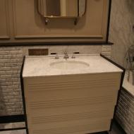 Оформление ванной комнаты. Фото 2.